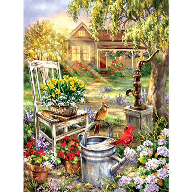 Spring Song 300 Large Piece Jigsaw Puzzle