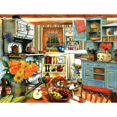 Grandma's Country Kitchen 300 Large Piece Jigsaw Puzzle