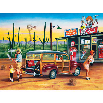 Are We there Yet? 300 Large Piece Jigsaw Puzzle
