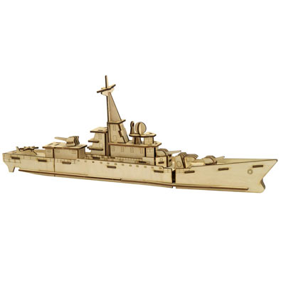 Battleship 3D Wooden Puzzle