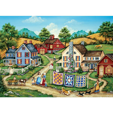 Kitten's Escape 300 Large Piece Jigsaw Puzzle