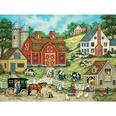 Fresh Milk 300 Large Piece Jigsaw Puzzle