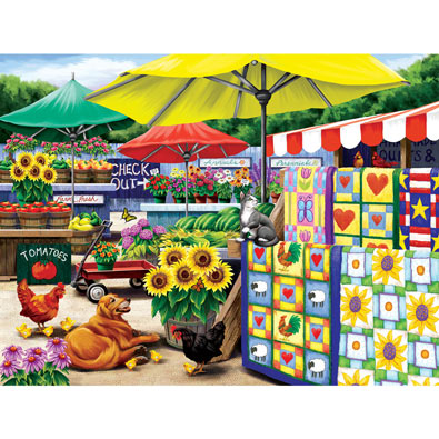 Farm Stand 300 Large Piece Jigsaw Puzzle
