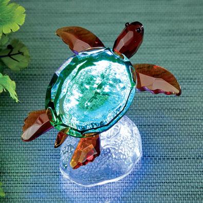 Crystal Light-Up Turtle