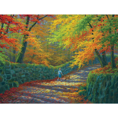 The Old Stone Wall 300 Large Piece Jigsaw Puzzle