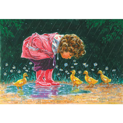 Just Ducky 300 Large Piece Jigsaw Puzzle