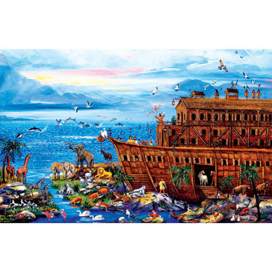 Landing Zone 300 Large Piece Jigsaw Puzzle
