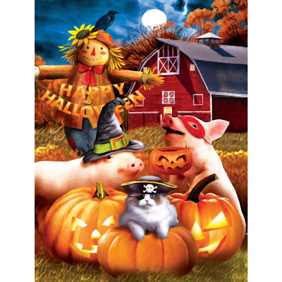 Happy Halloween 1000 Piece Halloween Jigsaw Puzzle