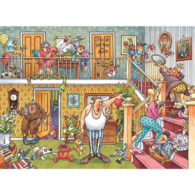 Slumber Party 1000 Piece Wasjig Puzzle
