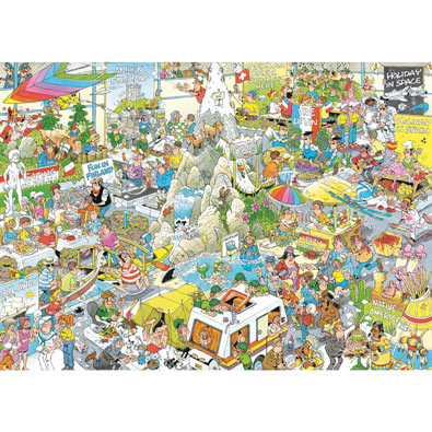 The Holiday Fair 1000 Piece Jigsaw Puzzle