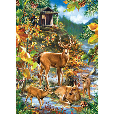 Family Gathering 1000 Piece Jigsaw Puzzle