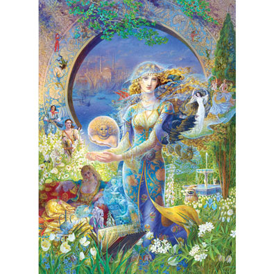 Cybele's Secret 1000 Piece Jigsaw Puzzle