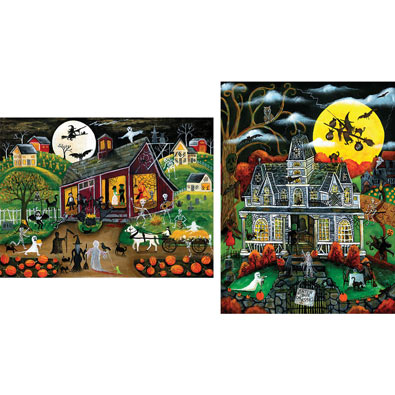 Set of 2: Cheryl Bartley 500 Piece Jigsaw Puzzles