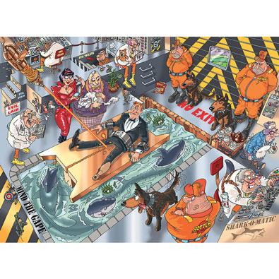 A Purrrfect Escape 1000 Piece Wasgij Jigsaw Puzzle