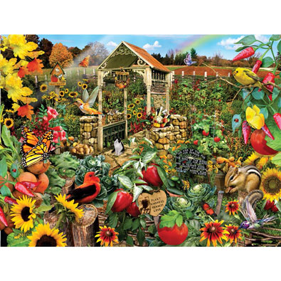 Community Garden 500 Piece Jigsaw Puzzle