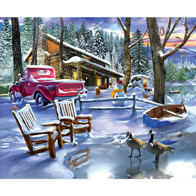 Snowed In 500 Piece Jigsaw Puzzle