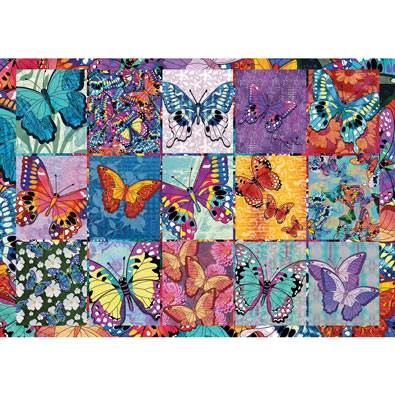 Butterflies 300 Large Piece Jigsaw Puzzle