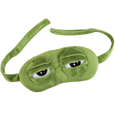 Frog Eye Sleep Mask