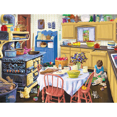 Nana's Kitchen 300 Large Piece Jigsaw Puzzle