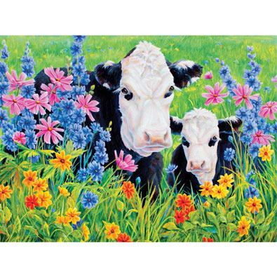 Pasture's Edge 550 Piece Jigsaw Puzzle