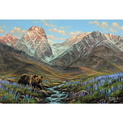 Mountain Bear 500 Piece Jigsaw Puzzle