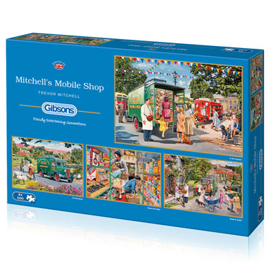 Mitchell's Mobile Shop 4 in 1 Multipack Set