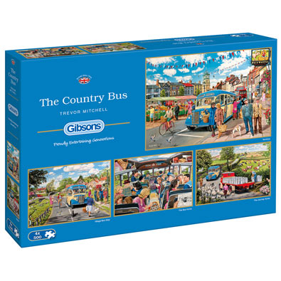 The Country Bus 4 in 1 Multipack Set