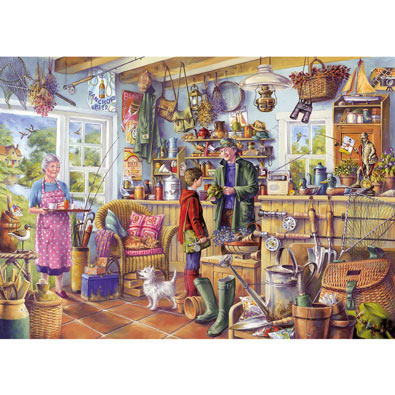 The Fishing Shed 1000 Piece Jigsaw Puzzle