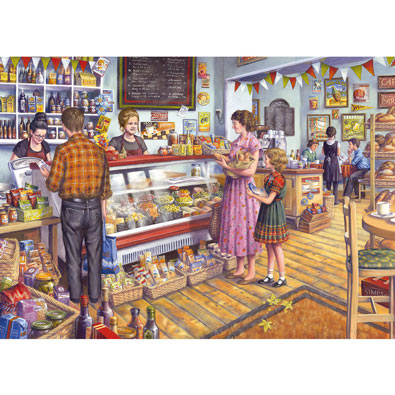 The Deli 1000 Piece Jigsaw Puzzle
