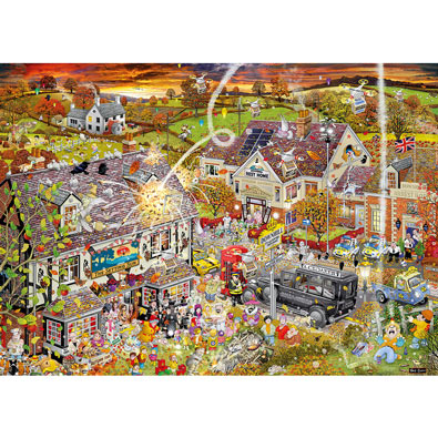 I Love Autumn 1000 Piece Jigsaw Puzzle