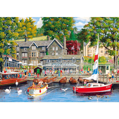 Summer in Ambleside 1000 Piece Jigsaw Puzzle