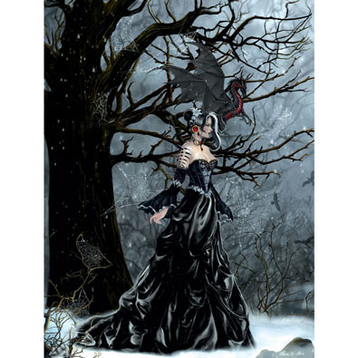Queen of Shadows 500 Piece Jigsaw Puzzle