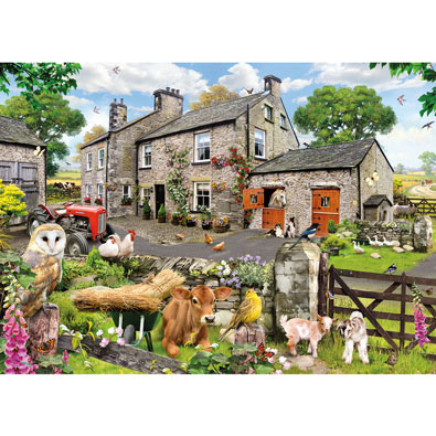 Farmyard Friends 1000 Piece Jigsaw Puzzle