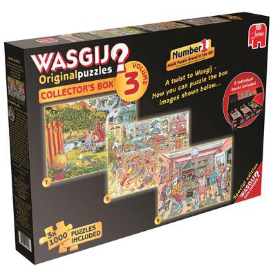 Wasgij Collector's Box Volume III 3 in 1 Multipack Set