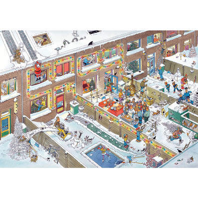 Christmas Eve 2000 Piece Jigsaw Puzzle