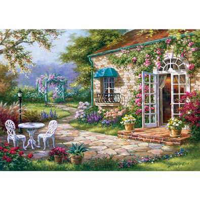 Spring Patio 1000 Piece Jigsaw Puzzle