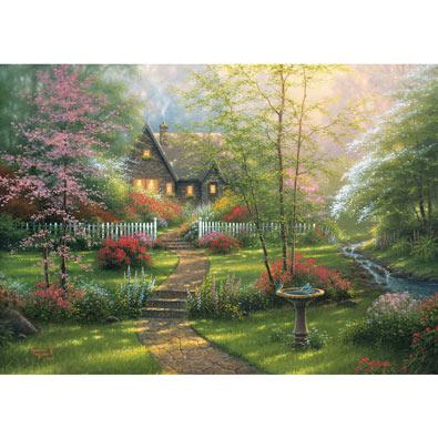 Dogwood Cottage 1000 Piece Jigsaw Puzzle