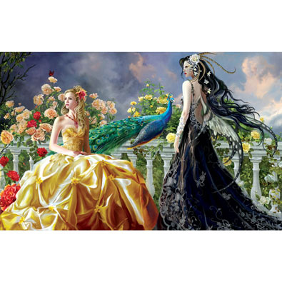 Pretty 550 Piece Jigsaw Puzzle