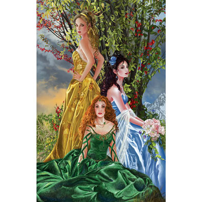 Sisters of Illymar 1000 Piece Jigsaw Puzzle