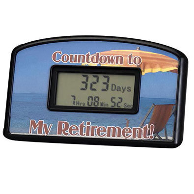 Retirement Countdown Timer