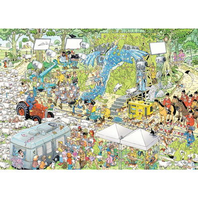 The Film Set 1000 Piece Jigsaw Puzzle