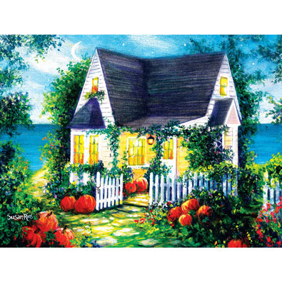 Halloween Cottage 500 Piece Jigsaw Puzzle