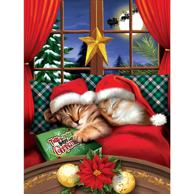 To All a Merry Christmas 300 Large Piece Jigsaw Puzzle