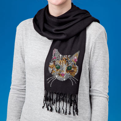Bling Cat Scarf