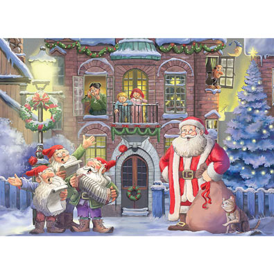 Christmas Carols 500 Piece Jigsaw Puzzle