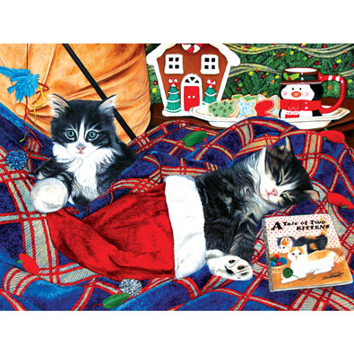 A Tale of Two Kittens 500 Piece Jigsaw Puzzle