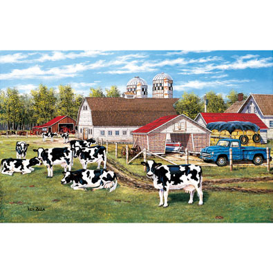 The Home Place 550 Piece Jigsaw Puzzle