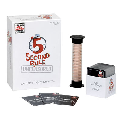 5 Second Rule Uncensored Game