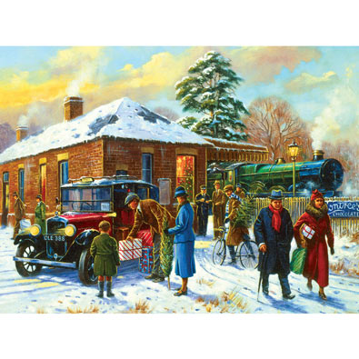Nearly Home 1000 Piece Jigsaw Puzzle