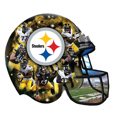 Steelers 500 Piece Shaped Jigsaw Puzzle